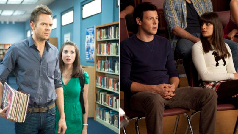 Illustration for article titled Community and Glee are pretty much the same show