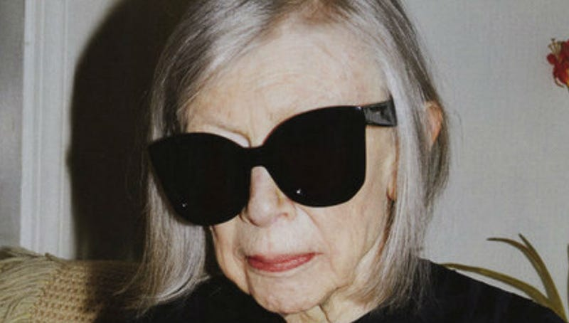 Illustration for article titled Joan Didion Is Céline's Newest Model