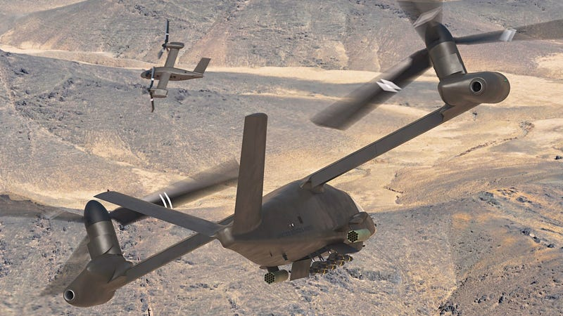 Illustration for article titled Bell's Newest Tiltrotor Could Finally Improve on the Osprey's Feathers