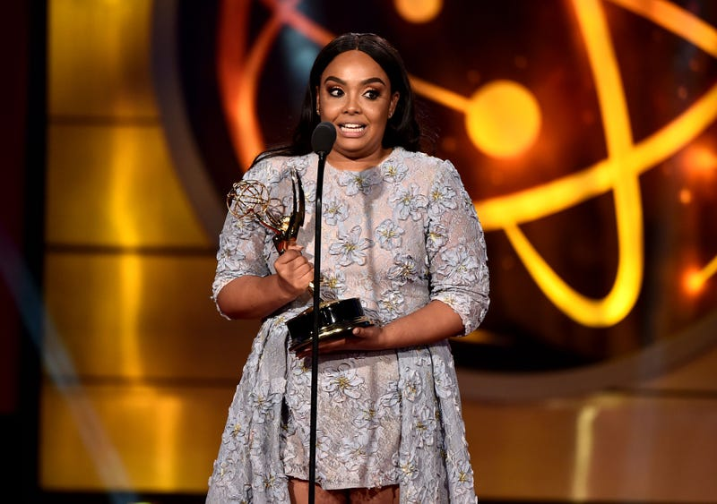 Vanessa Baden Kelly accepts the award for Outstanding Lead Actress in a Digital Daytime Drama onstage during the 46th annual Daytime Creative Arts Emmy Awards at Pasadena Civic Center on May 03, 2019 in Pasadena, California.