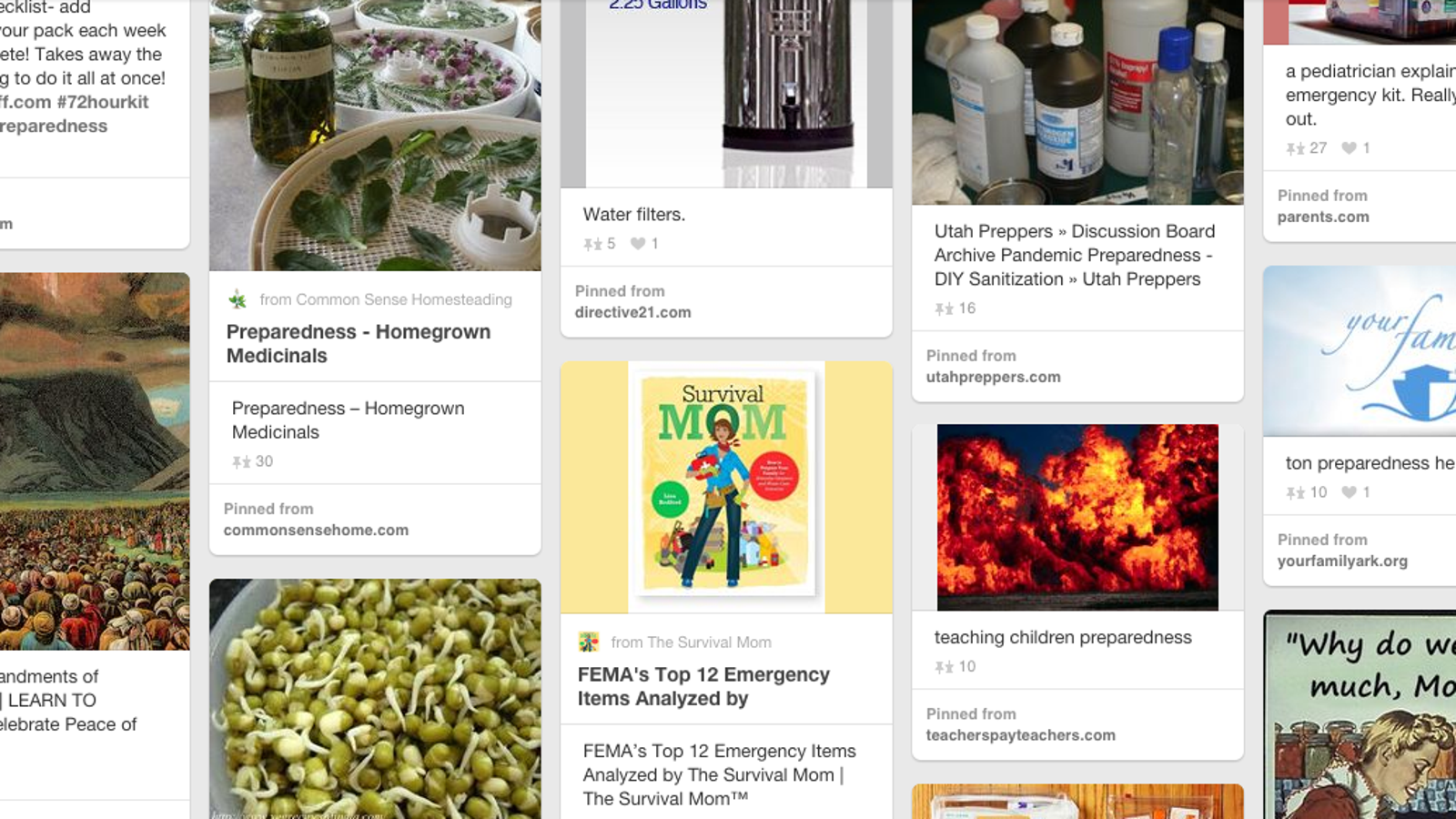 Mormon Doomsday Survivalist Preppers Are All Over Pinterest