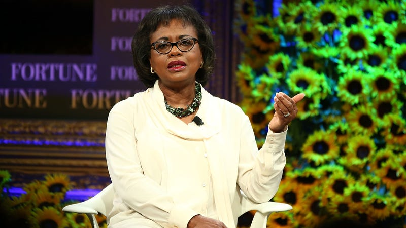 Anita Hill at the 2016 Fortune Most Powerful Women Summit. Image via Getty.