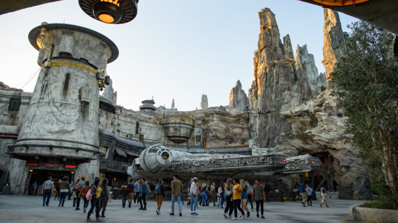 Look at all those people, having a nice time at Star Wars: Galaxy's Edge. WHY ARE NONE OF THEM ME!?