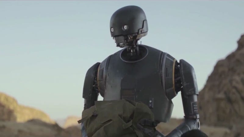 K-2SO from Rogue One: A Star Wars Story. All Images: Walt Disney Pictures