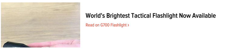 Illustration for article titled Tactical Flashlight