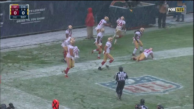 49ers Get Flagged For Celebrating Touchdown That Didn't Happen