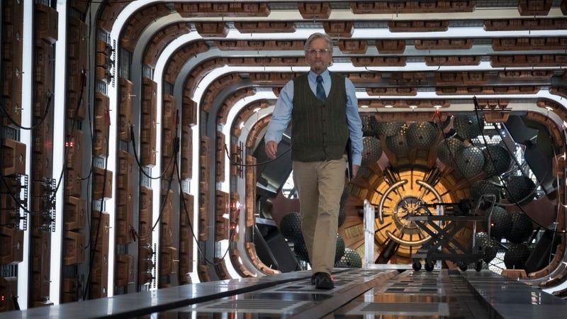 Michael Douglas as Hank Pym.