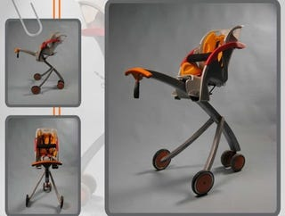 Illustration for article titled Metrolla Strolla: Baby Stroller Gets Some Height Added