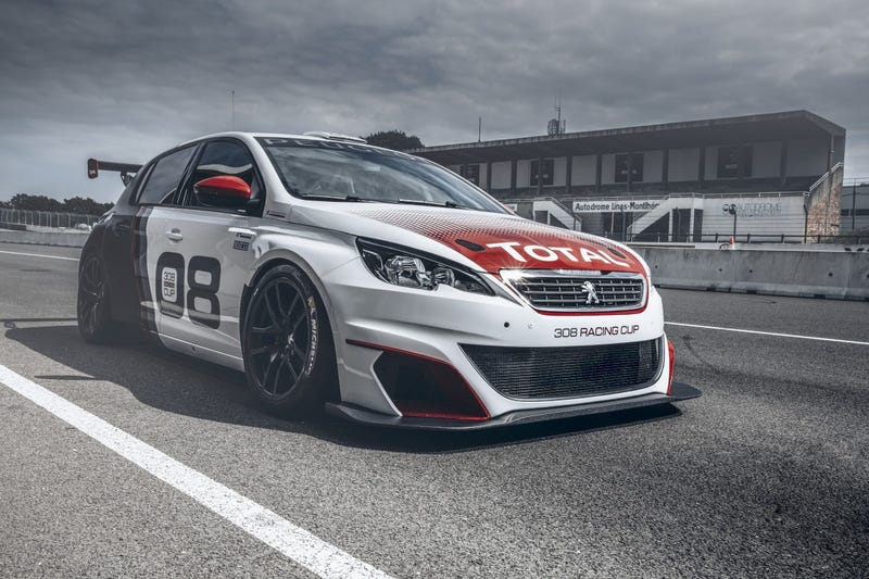 Illustration for article titled Peugeot 308 RacingCup