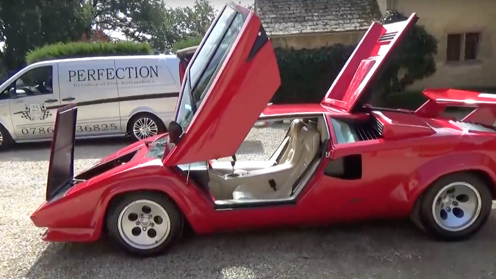 how to perfectly detail your lamborghini countach. Black Bedroom Furniture Sets. Home Design Ideas