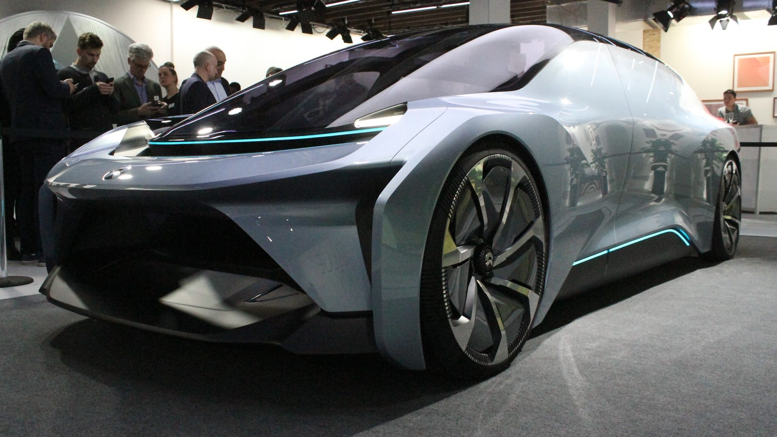 There S A New Chinese Electric Autonomous Concept Car And It Looks Awesome