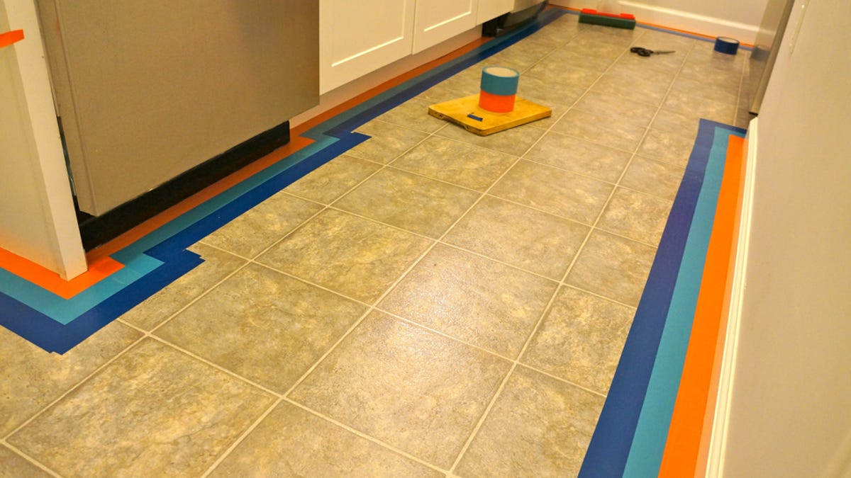 Diy How To Give Your Apartment A Bold New Floor For Less Than 100