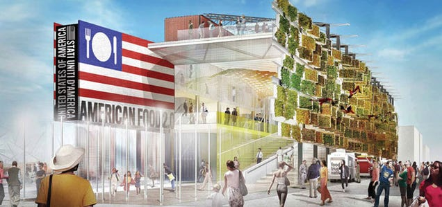 Every Inch of This Building's Facade Will Grow Crops You Can Eat