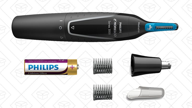Philips Norelco Nose Trimmer 3000, $13