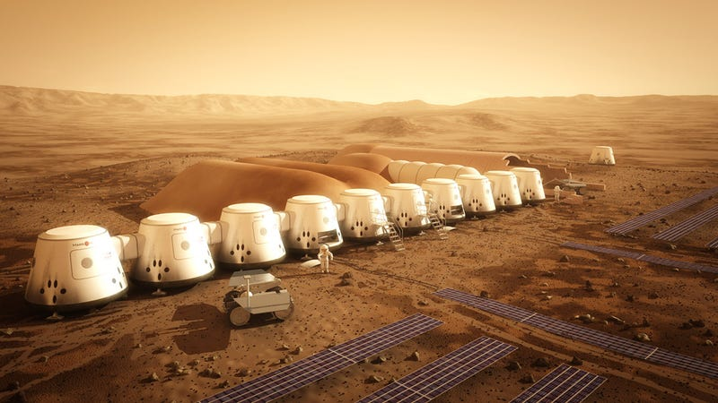 Illustration for article titled Los tripulantes de la misión Mars One se morirían de hambre, según MIT
