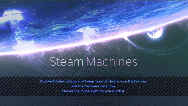 Illustration for article titled Steam Machine Beta: Let's Try To Get In