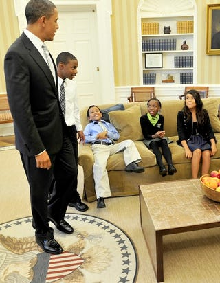 Illustration for article titled Obama Meets With New Team Of Education Advisers