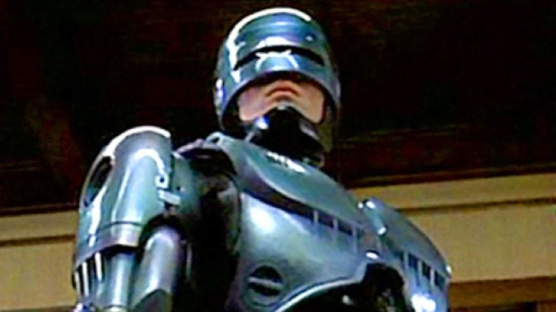 Illustration for article titled Detroit will have its RoboCop statue, and Zodiac Motherfucker is pleased