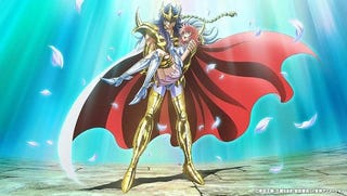 Illustration for article titled Here it is the leaked trailer of Saint Seiya: Saintia Sho