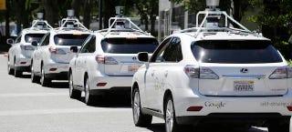 Illustration for article titled Google sobre los accidentes de su coche autónomo: culpa de los humanos