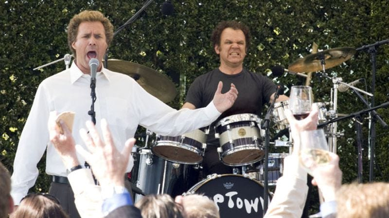Prestige Worldwide performs in Step Brothers