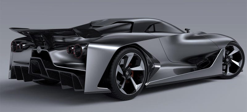 Illustration for article titled The Nissan Vision Gran Turismo Is A Glimpse Into The Beautiful Future