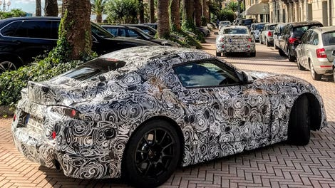 The New Toyota Supra Went On Vacation With Some BMWs In Italy