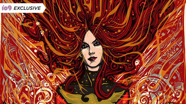 This Marvel Poster Highlights the Gorgeous Fury of the Phoenix Force