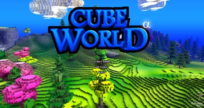 скачать игру Cube World последнюю версию - фото 3
