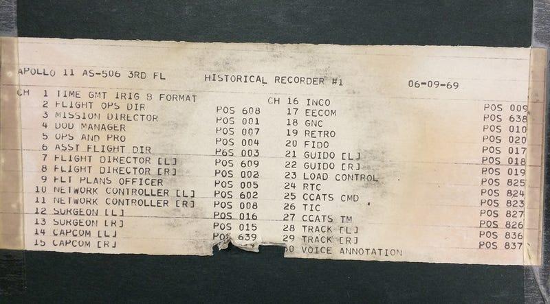 Illustration for article titled Todos los detalles de la misión Apolo 11 en más de 19.000 horas de audio y transcripciones inéditas