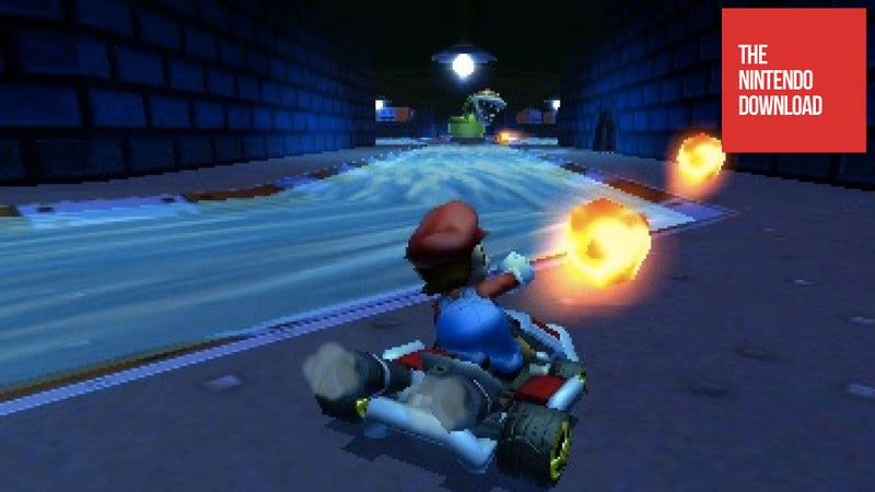 Illustration for article titled There's a Mario Kart 7 Patch in This Week's Nintendo Download