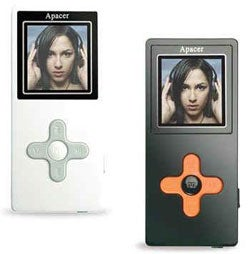 Illustration for article titled Apacer AU822 Flash-Based MP3 Player