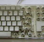 Illustration for article titled Why You Should Clean Your Keyboard—Right This Minute