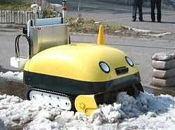 Illustration for article titled Japanese Snowplow Robot is Awesome