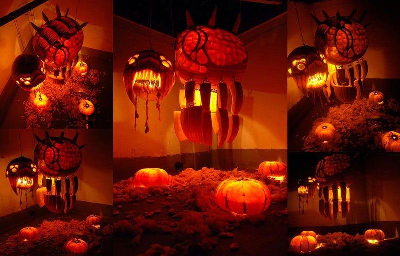 Illustration for article titled Starcraft's Pumpkin Overlord Spews Seeds
