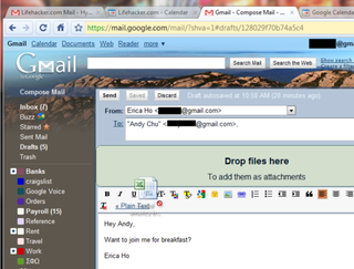 Illustration for article titled Gmail Adds Drag-and-Drop Attachment Uploads, Deeper Calendar Integration