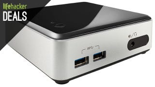 Illustration for article titled Intel's Awesome NUC PC Starter Kits Are On Sale Today