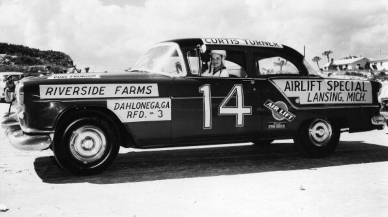 Illustration for article titled Sara Christian Competed in the First Ever NASCAR Race and Is the Only Woman To Score a Top Five Finish