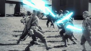 Combinar la Segunda Guerra Mundial con <i>Star Wars</i>es una idea genial