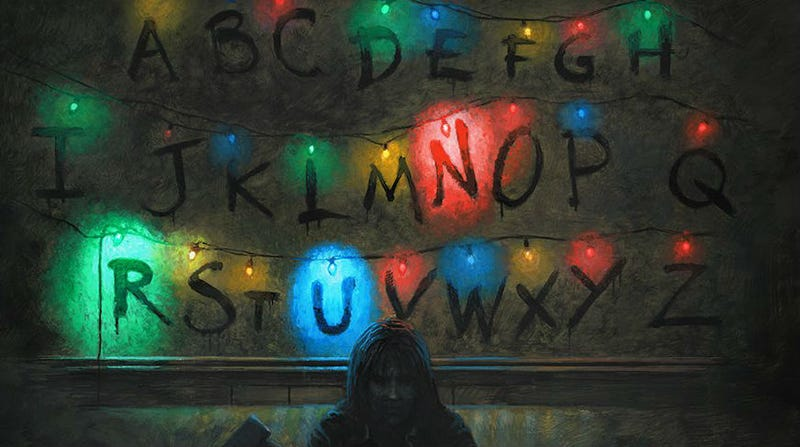 Illustration for article titled Friends Don't Lie, These Stranger Things Posters Are Great