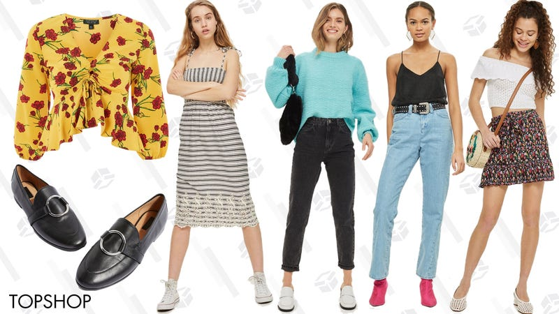 Up to 50% off select styles | Topshop