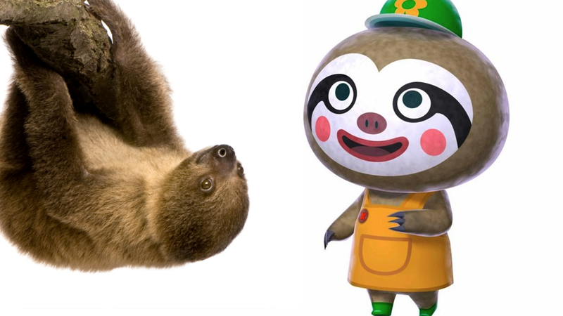 Illustration for article titled Sloths, The Grandest Creature of All, Are Finally In Animal Crossing