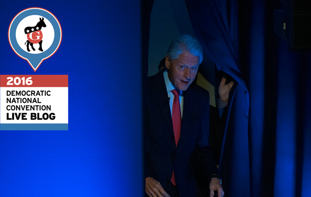Liveblogging Bill Clinton's Inevitable DNC Fuckup