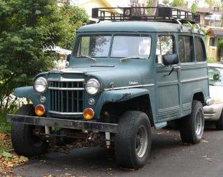 1956 Willys Jeep Station Wagon