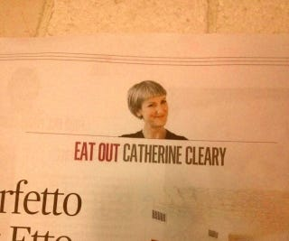 Illustration for article titled Today In Unfortunate Newspaper Column Placement