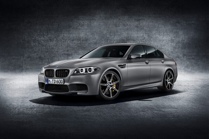 Illustration for article titled BMW Celebrates M5's 30th Anniversary By Giving It 600HP