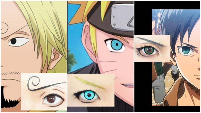 Anime Eyes Looking Right