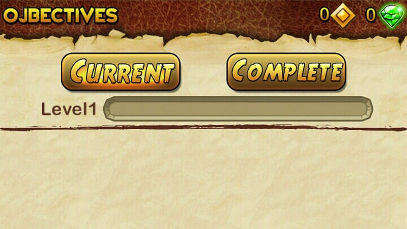 Illustration for article titled Can You Spot the Error in This Temple Run 2 Menu?