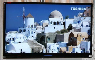 Illustration for article titled Toshiba's New Regza LCD TV's Bezel Touted as World's Thinnest