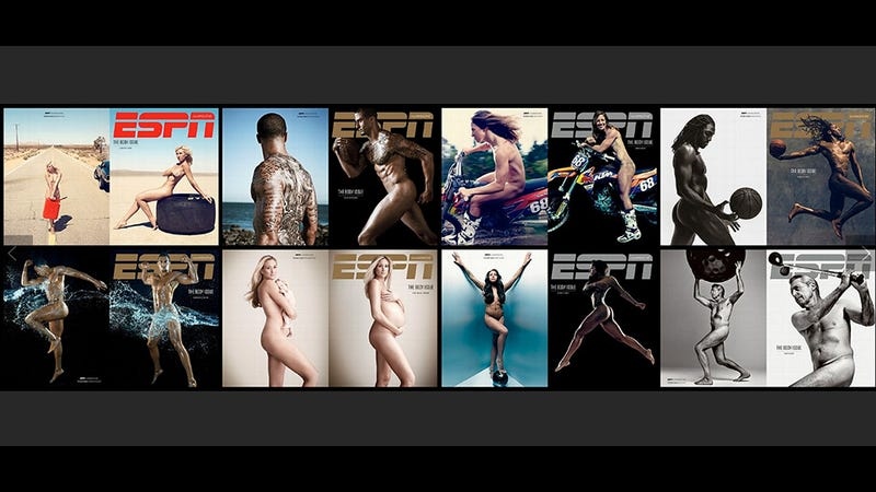 Illustration for article titled Gorgeous Naked Athletes, Male and Female: ESPN's Body Issue Nails It